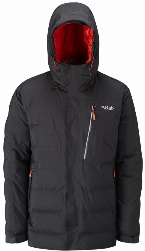 Rab Mens Resolution Jacket - Lightweight, Warm, Waterproof - 800FP Down